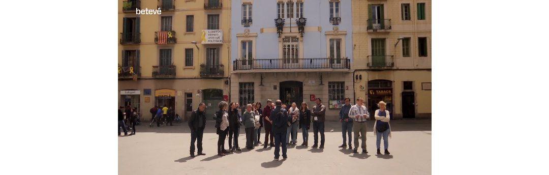 """Betevé visita """"La meva Barcelona, des dels ulls de la inclusió"""""""