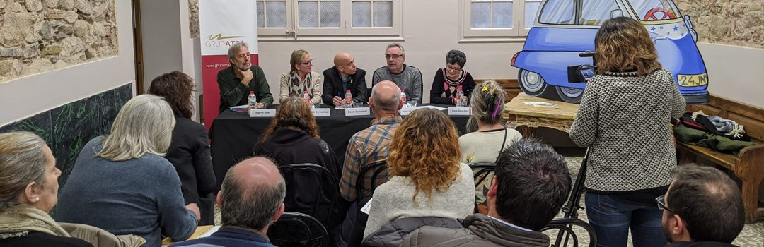 "Grup ATRA presenta en roda de premsa ""La nit de Sant Joan"""