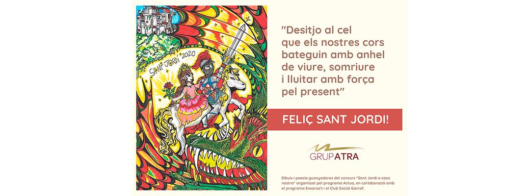 ¡Feliz Sant Jordi confinado!