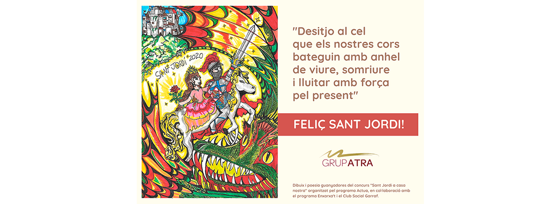 Bon Sant Jordi confinat!