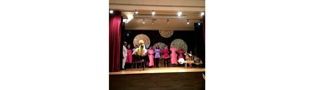 """Els residents de la Llar Residència Pàdua estrenen una representació teatral de l'obra """"El Petit Príncep"""""""
