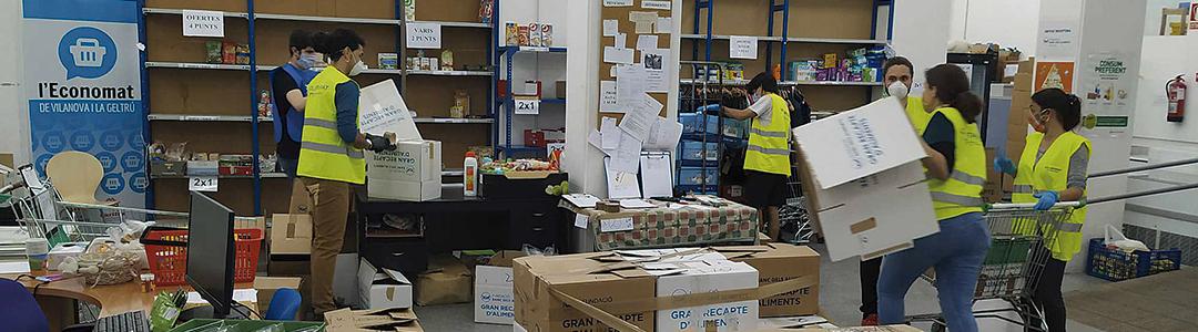El treball comunitari dels agents socials de VNG s'intensifica durant l'alarma sanitària