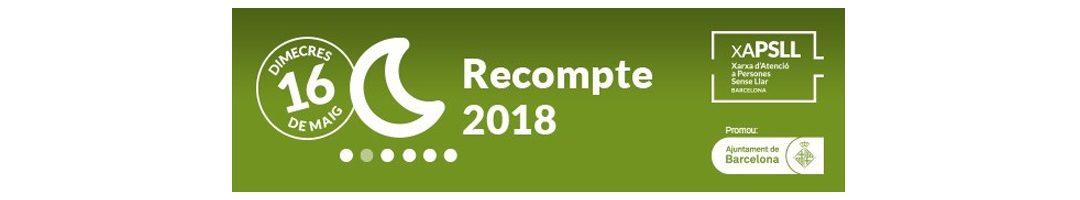 Inscripcions obertes per participar com a voluntari/a al Recompte 2018