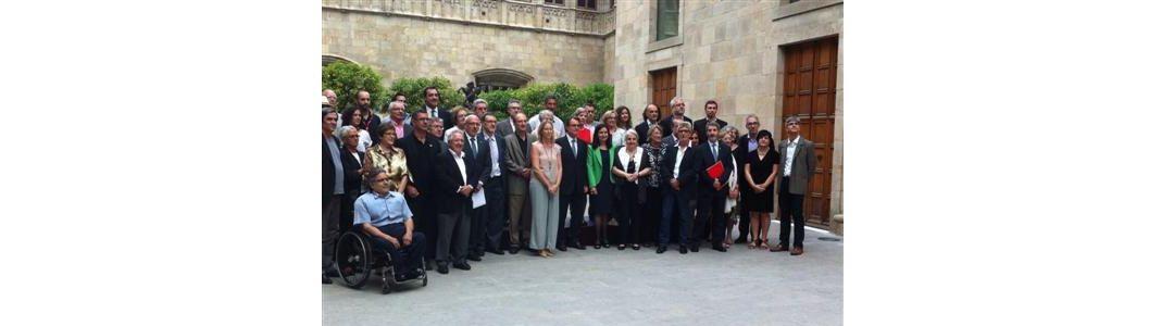 La Taula d'Entitats del Tercer Sector Social presenten 12 propostes d'actuació al President de la Generalitat