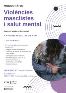 cartell curs voluntariat drogues amb perspectiva de gènere